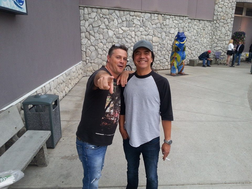 Mike Inez, bassist from Alice in Chains - hanging with Ian K in Prince Greorge, BC in 2013